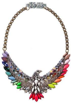 Shourouk Rainbow Phoenix Necklace
