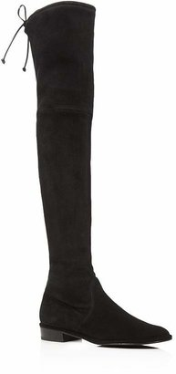 Stuart Weitzman Women's Lowland Stretch Suede Over-the-Knee Boots