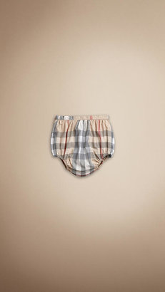 Burberry Check Bloomer Shorts