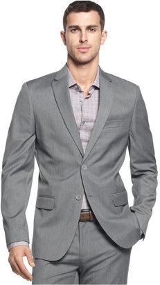 Calvin Klein Men's Two-Button Greystone Blazer $119.98 thestylecure.com