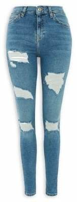 Topshop MOTO Jamie Jeans 30-Inch-Leg