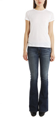 J Brand Martini Skinny Flare in Mayflower