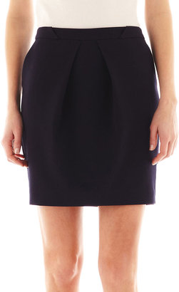 MNG by Mango Pleat-Front Mini Skirt