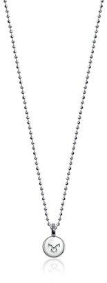 "Alex Woo Mini Addition Zodiac Taurus Sterling Silver Pendant Necklace, 16"""