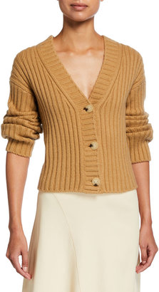 Vince Chunky Ribbed Cardigan