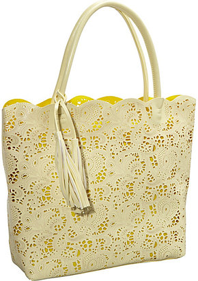 Jesselli Couture BUCO Large Lace Tote