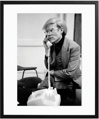 Warhol on the Phone