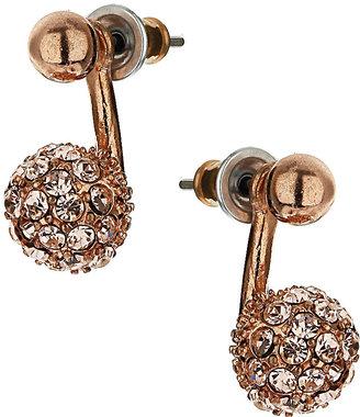 Topshop Rhinestone Stud Earrings