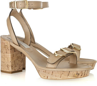 Stella McCartney Faux-leather platform sandals
