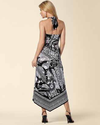 Soma Intimates Halter Scarf Hem Maxi Dress