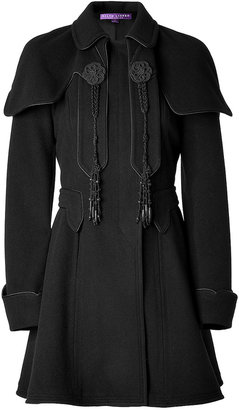 Ralph Lauren Wool-Cashmere Coat in Black