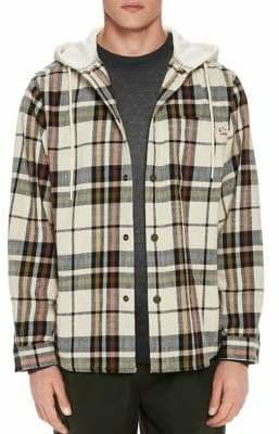 Scotch & Soda Oversized Check Jacket