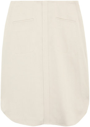Calvin Klein Collection Stretch-crepe skirt