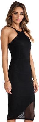Donna Mizani Mid Length Racer Front Dress