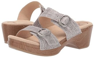 Dansko Sophie (Black Full Grain) Women's Sandals