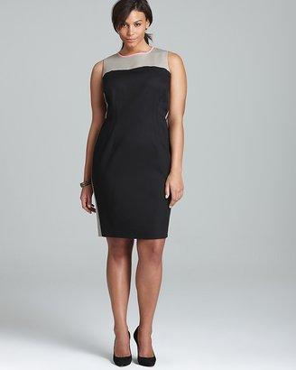 Elie Tahari Tahari Woman Plus Dakota Dress
