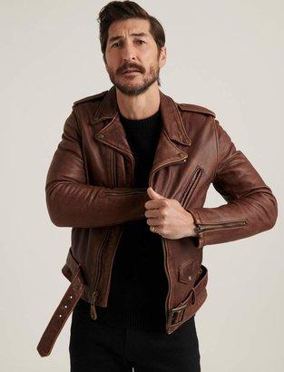 Lucky Brand Schott X Lb Bowery Jacket