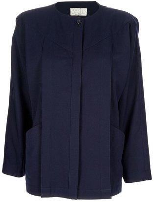 Basile Vintage Collarless jacket