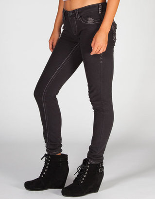 Freestyle REVOLUTION Contrast Stitch Womens Skinny Jeans