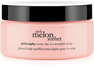 philosophy Pink Melon Sorbet Body Souffle, 7 Oz