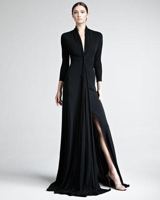 Chado Ralph Rucci Matte Jersey Gown