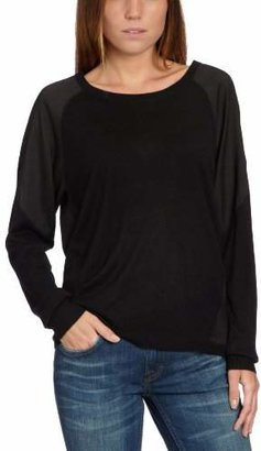 Designers Remix Women's Crew Neck Long - regular Blouse - - (Brand size: 40)