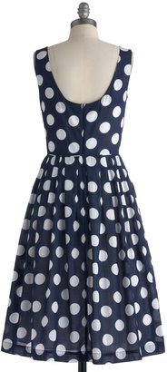 Emily And Fin Classy Reunion Dress in Dots
