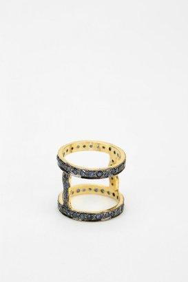 Vanessa Mooney Astral Sapphire Cuff Ring
