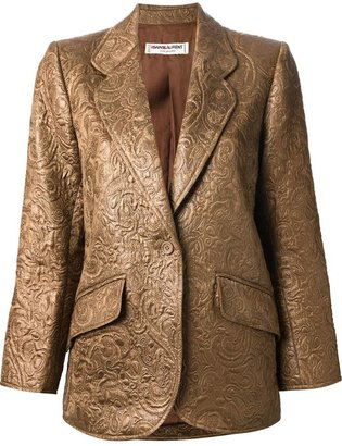 Saint Laurent Vintage brocade blazer