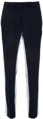 True Royal Block stripe trouser