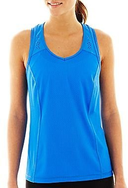 JCPenney XersionTM Laser-Cut Tank Top