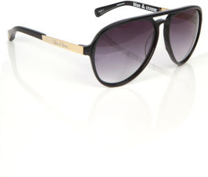 Blue & Cream Blue&Cream Bowery Sunglasses in Black