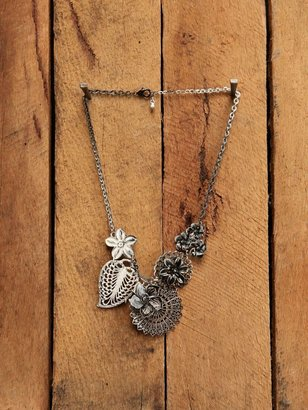 Free People Flower Cluster Necklace