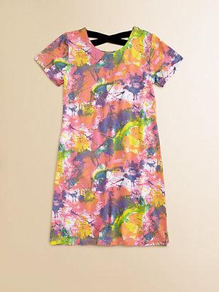 Flowers by Zoe Girl's Tie-Dye T-Shirt Dress
