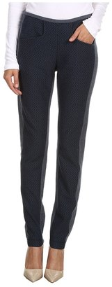 See by Chloe Stretchy Legging Pant (Seaport/Black) - Apparel