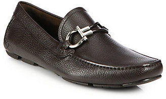 Salvatore Ferragamo Six II Leather Moccasins