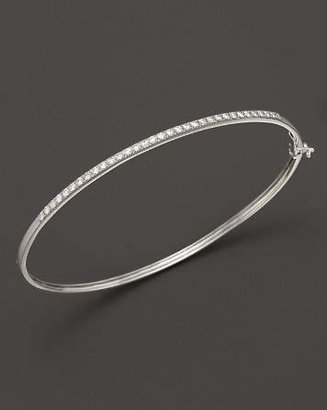 Bloomingdale's Diamond Bangle in 14K White Gold, .40 ct. t.w. - 100% Exclusive