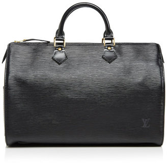 Louis Vuitton Vintage 35Cm Black Epi Speedy Black