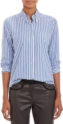 Isabel Marant Candy-Stripe Earl Shirt