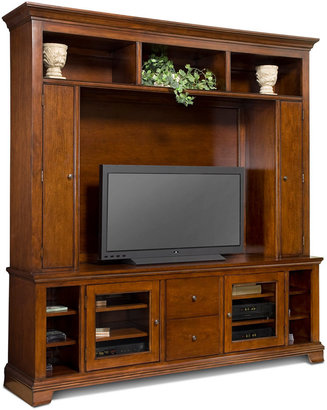 Crystal Entertainment Center, 2 Piece Wall Unit