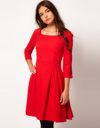 Vila Fit And Flare Dress