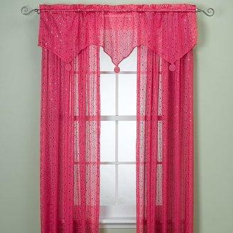 Bed Bath & Beyond Gum Drop Window Panels and Valance