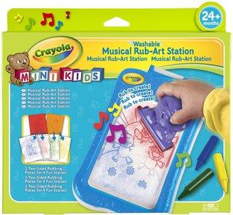 Crayola My First Musical Rub-Art Station