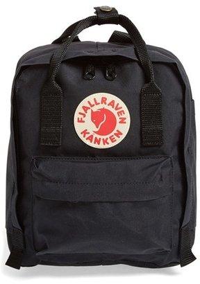 Fjallraven 'Mini Kanken' Water Resistant Backpack - Black $65 thestylecure.com