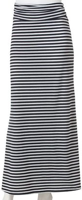Lily rose striped maxi skirt - juniors