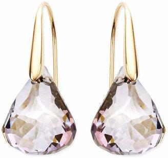 Swarovski Earrings, Lunar Blush Crystal Drop Earrings