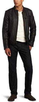 Levi's Men's Faux Leather Racer Blazer