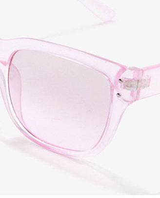 Forever 21 F9685 Transparent Sunglasses