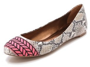 Twelfth St. By Cynthia Vincent Sage Embroidered Flats