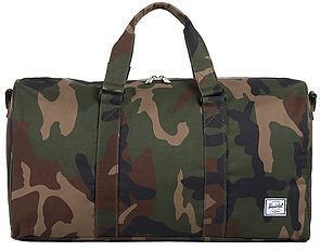 Herschel Supply The Ravine Duffle Bag in Woodland Camo